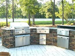 Outdoor Kitchen Countertop Material Ideas Picture Materials