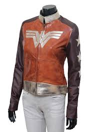 new wonder women 2017 stylish party ware leather jackets