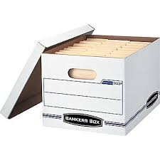 Bankers Box StorFile BasicDuty Storage Boxes LetterLegal