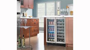 Under Counter Beverage Centers Danby Dual Zone 50 Cu Ft Built In Beverage Center Dbc2760bls
