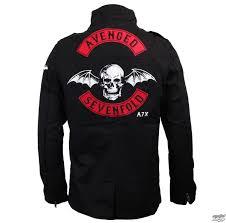 spring fall jacket men s avenged sevenfold military bravado 17952137 metal eu