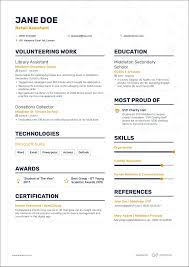 First Job Cv How To Write A First Cv Without Experience What Career Live