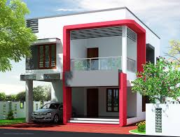 house design indian style plan and elevation unique architecture design of a low cost house in