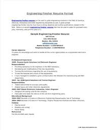 Engineering Student Resume Format Free Download Resume Resume