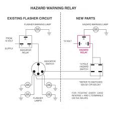 hazard warning lights the 'e' type forum Flasher Unit Wiring Diagram and the e type diagram for reference flasher unit wiring diagram 2 pin