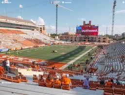 Darrell K Royal Texas Memorial Stadium Section 14 Seat