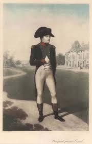 Napoleon Bonaparte, als Kaiser Napoleon I., frz. Napoléon Bonaparte bzw.  Napoléon Ier, Napoleone Buonaparte (Ajaccio auf Korsika 15. 08. 1769 - 05.  05. 1821 Longwood House auf St. Helena, Südatlantik). Kaiser von