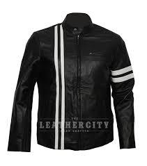 men s slim fit torreto fast f 8 celebrity leather jacket front