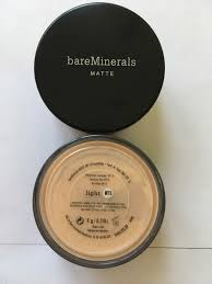 Bare Minerals Matte Spf15 Foundation Light W15 6g