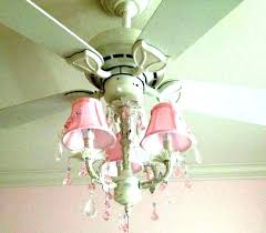 princess ceiling fan girly fans girl chandelier with regard to modern household light
