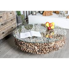 full size of modern coffee tables brilliantglass coffee tables gray round driftwood twigs and glass