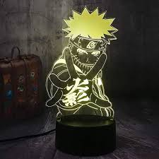 <b>New</b> Cool Japanese Naruto Anime Uzumaki Naruto <b>3D LED</b> Night ...