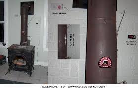 woodstove stove pipe alarm thermometer flue temp wood regarding elegant home wood stove pipe remodel