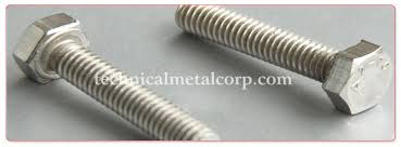 A470 Stainless Steel Hex Bolt A470 Hex Bolt A470 Stainless