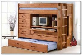 Amusing Wood Bunk Bed With Desk 46 Beds Plans anadolukardiyolderg