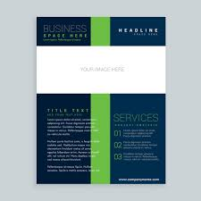 one page flyer template one page brochure template awesome simple brochure cover flyer