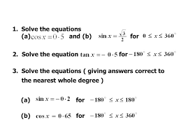 solve the equations a and b for 2