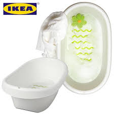guangzhou purchase ikea baby bath wave pattern anti slip white and green of
