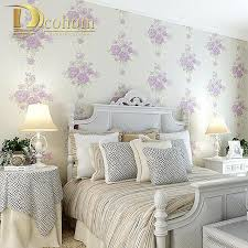 Wallpaper For Bedroom Online Buy Wholesale Pink Rose Wallpaper From China Pink Rose