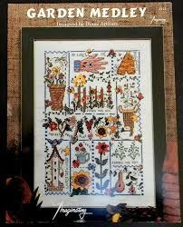 Diane Arthurs Cross Stitch Designs Imaginating Garden Medley Cross Stitch Pattern Diane Arthurs