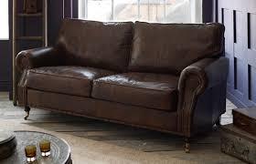 arlington studded leather sofa