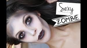 glamorous y zombie makeup tutorial 2017 you