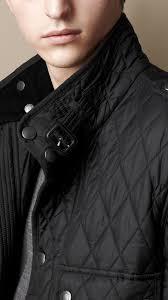Burberry Diamond Quilted Field Jacket in Black for Men | Lyst & Gallery Adamdwight.com