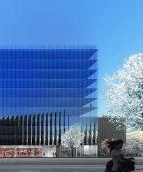office facades. REX Unveils Office Complex For Washington DC With Fluted Glass Façades Facades I