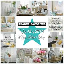 Top 15 Of 2015 Reader Favorties At Fox Hollow Cottage Seasonal Crafts Home  Decor And Diy Improvement Projects On Home Decor Craft Ideas