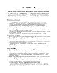 Facility Manager Resume Facility Maintenance Manager Resume Exampleabulous Sample Horsh 6
