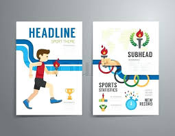 Sports Infographic Template Sports Infographics Vector Wearable Technology Illustration Template
