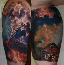 значение тату молнии фотографии татуировки молнии каталог тату