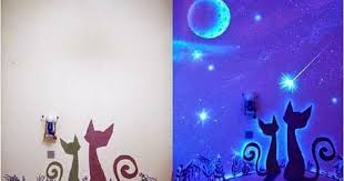 glow in the dark paint for wallsDIY Glow In The Dark Paint Wall Murals  DIY Craft Projects