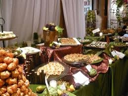 decorating ideas for buffet tables