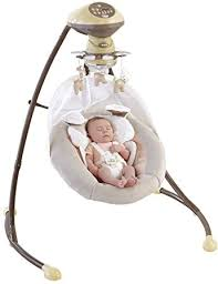 Amazon.com : Fisher-Price My Little Snugapuppy Cradle 'n Swing ...