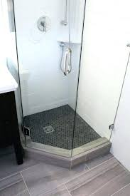solid surface shower base new angle shower base tile ready angle solid surface shower base design