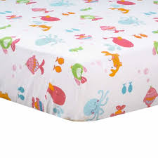 carter s bedding sets under the sea 4 piece baby crib set