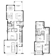 narrow lot double y house designs perth apg homes floor plans for houses pics view