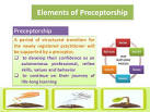 preceptorship