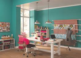 office color ideas.  Office Teal Home Office Intended Office Color Ideas R