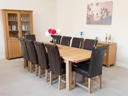 Large Oak Dining Table Seats 10 Dining Room Table That Seats 10 How To Choose Large Round Dining