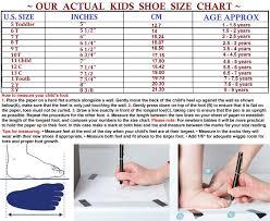 Girls Rain Boots Little Big Kids Rubber Shoes Size 5t 3y
