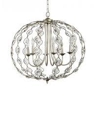 ls 6 light crystal pendant