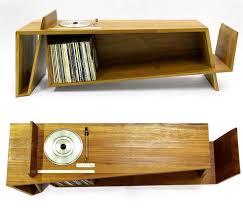 turntable furniture. The Folded Record Bureau: Turntable, Shelf, \u0026amp; Magazine Shelf In One   Apartment Therapy Turntable Furniture