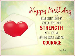 Birthday Love Quotes Custom Impressive Birthday Love Quote By Lao Tzu Golfian
