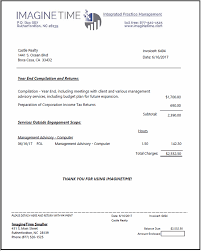 Invoice Samples Displaying Flexibility Of Invoice Formats
