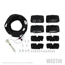r5 modular wheel to wheel nerf step bars westin automotive r5 led light kit