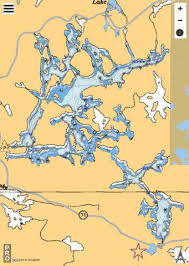 Dogtooth Lake Depth Chart End Lake Fishing Map Ca_on_dogtoothlake Nautical