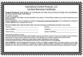 warranty template word warranty certificate template word warranty certificate template