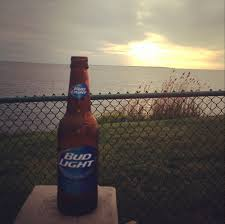 Bud Light Lighthouse Sunset And Bud Light In Montauk Bud Light Bud Long Island